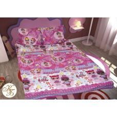 Детская постель Куклы Лол (Lol) розовые