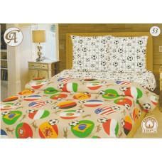 Детская постель Мировой футбол