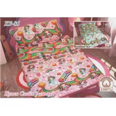 Детская постель Пупси слайм розовый