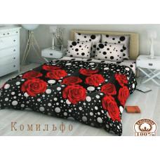 Жатый постельный комплект Комильфо