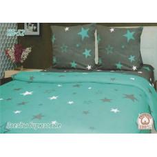Постельный комплект Звезды бирюзовые