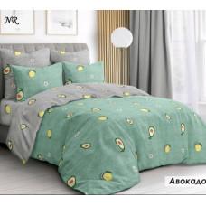 Постельный комплект Авокадо серо-зеленый