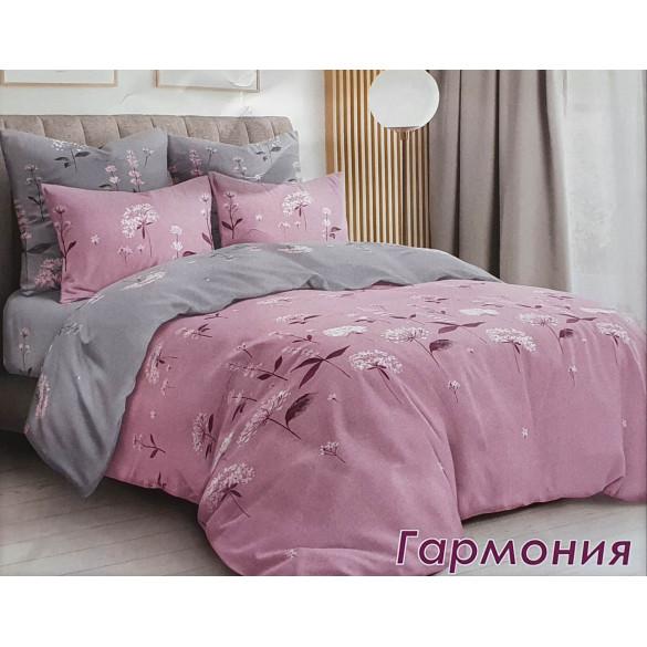 Постельный комплект Гармония розовая